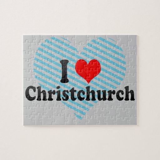 I Love Christchurch, New Zealand Puzzle