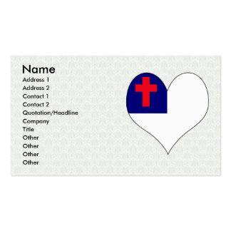 I Love Christian Double-Sided Standard Business Cards (Pack Of 100)