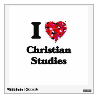 I Love Christian Studies Wall Graphic