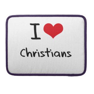 I love Christians MacBook Pro Sleeve