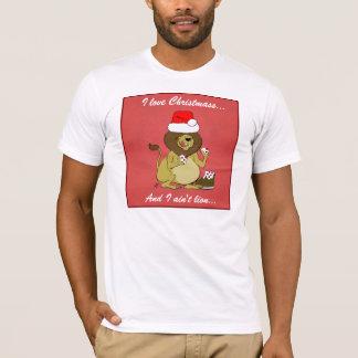 I love Christmas, and I ain't lion - T-Shirt