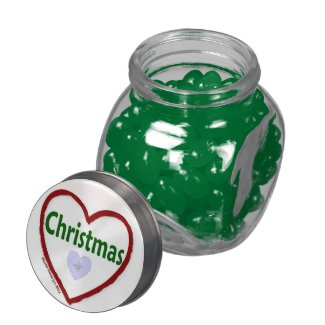 I Love Christmas - Candy Jar