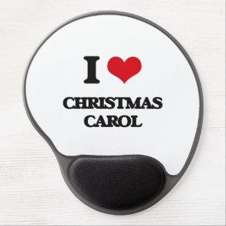 I Love CHRISTMAS CAROL Gel Mouse Pad