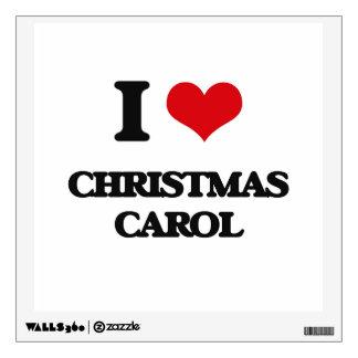 I Love CHRISTMAS CAROL Room Decal