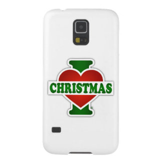 I Love Christmas Case For Galaxy S5