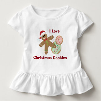 I Love Christmas Cookie, Gingerbread Toddler Toddler T-shirt