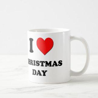 I love Christmas Day Mug