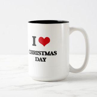 I love Christmas Day Mugs