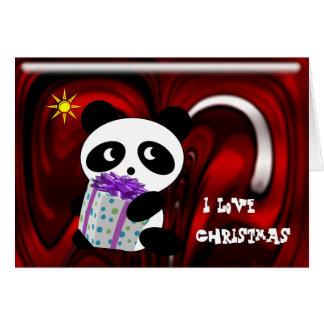 I Love Christmas Greeting Card