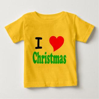 I Love Christmas Infant T-Shirt