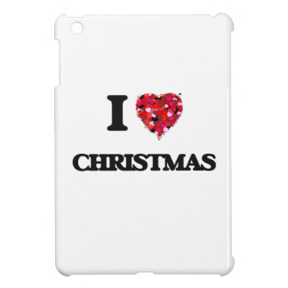 I love Christmas iPad Mini Cover
