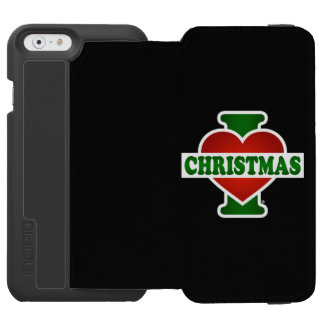 I Love Christmas iPhone 6/6s Wallet Case