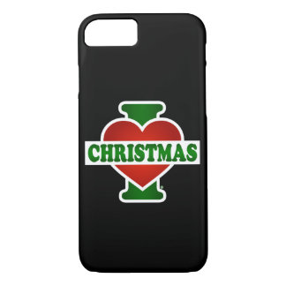 I Love Christmas iPhone 7 Case