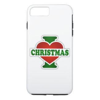 I Love Christmas iPhone 7 Plus Case