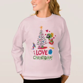I Love Christmas - MARVIN THE MARTIAN™ Sweatshirt