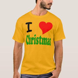 I Love Christmas Mens T-Shirt