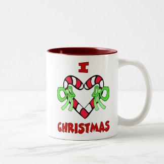 I Love Christmas Mug