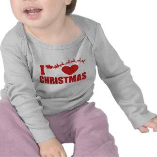 I Love Christmas Shirts