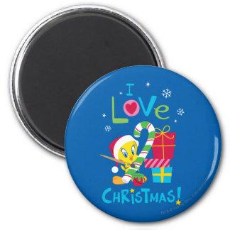 I Love Christmas - TWEETY™ Magnet