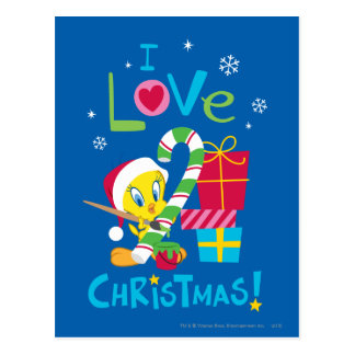 I Love Christmas - TWEETY™ Postcard