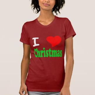 I Love Christmas Womans T-Shirt
