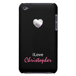 I Love Christopher iPod Touch Covers