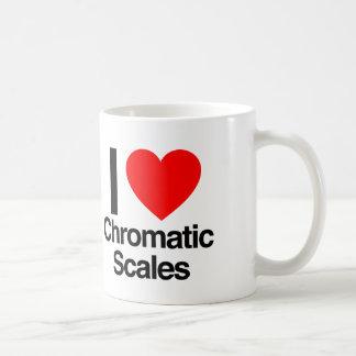i love chromatic scales coffee mug