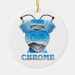 I Love Chrome - Ornament