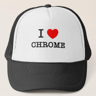 I Love Chrome Trucker Hat
