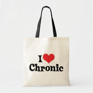 I Love Chronic Weed Tote Bag
