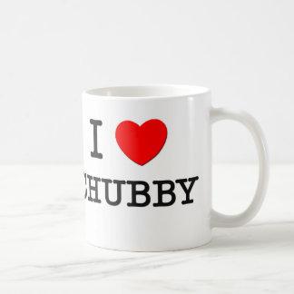 I Love Chubby Classic White Coffee Mug