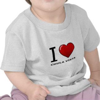 I LOVE CHULA VISTA,CA - CALIFORNIA T SHIRT