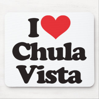 I Love Chula Vista Mouse Pad