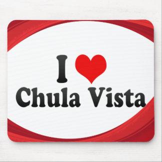 I Love Chula Vista, United States Mouse Pad