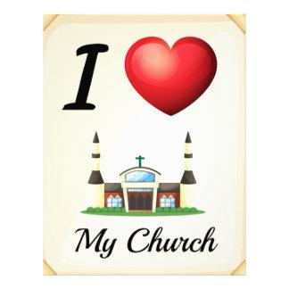 I love church letterhead