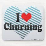 I Love Churning Mouse Pad