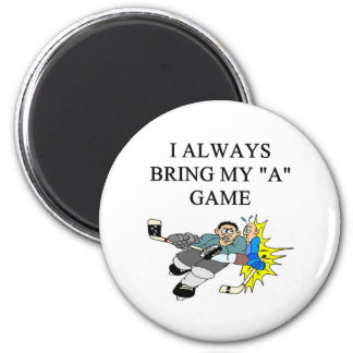 i love cie hokey 2 inch round magnet