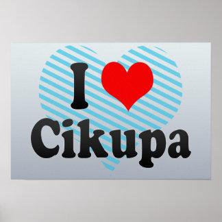 I Love Cikupa, Indonesia Poster