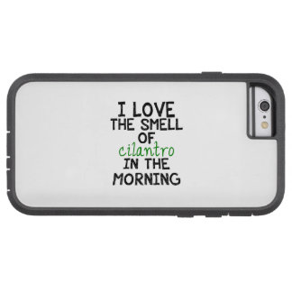 I Love Cilantro (Personalize Background) Tough Xtreme iPhone 6 Case