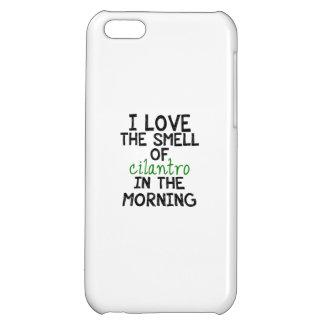 I Love Cilantro (Personalize Background) Case For iPhone 5C