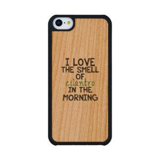 I Love Cilantro Carved® Cherry iPhone 5C Slim Case