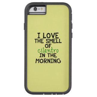I Love Cilantro - Yellow Background iPhone 6 Case