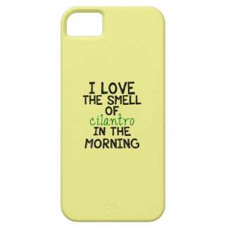I Love Cilantro - Yellow Background Case For iPhone 5/5S