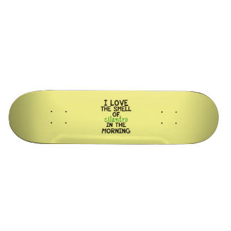 I Love Cilantro - Yellow Background Skateboard Decks
