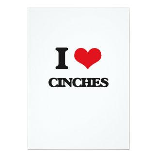 I love Cinches 5x7 Paper Invitation Card