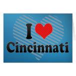 I Love Cincinnati Greeting Card
