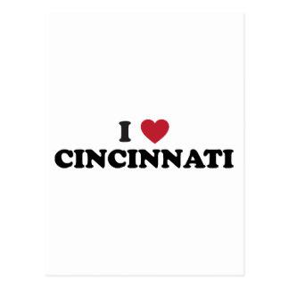 I love Cincinnati Ohio Postcard
