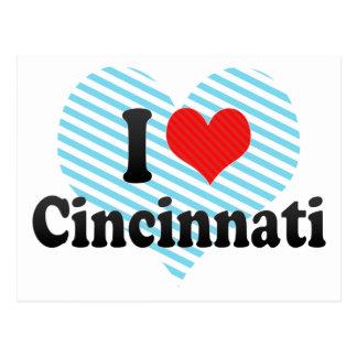 I Love Cincinnati Postcards