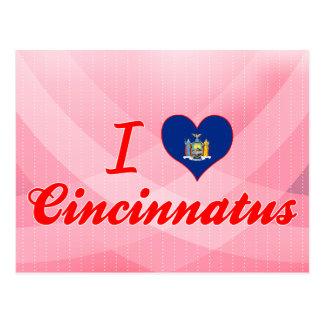 I Love Cincinnatus, New York Postcard
