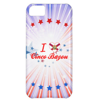 I Love Cinco Bayou, Florida iPhone 5C Case